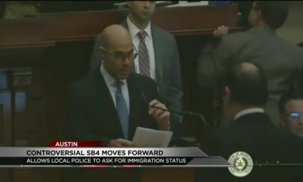 Texas House Passes Controversial 'Sanctuary Cities' Bill