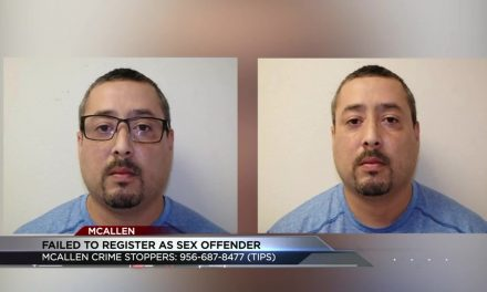 Police search for Man after he Failed to Register as a Sex Offender