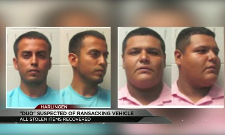 Two Arrested After Ransacking Pick-Up Truck