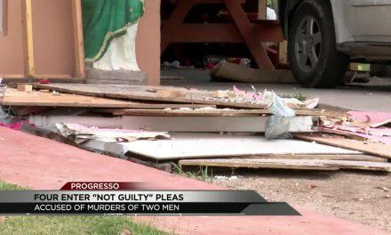 Four Men Enter 'Not Guilty' Plea for Alleged Double Murder