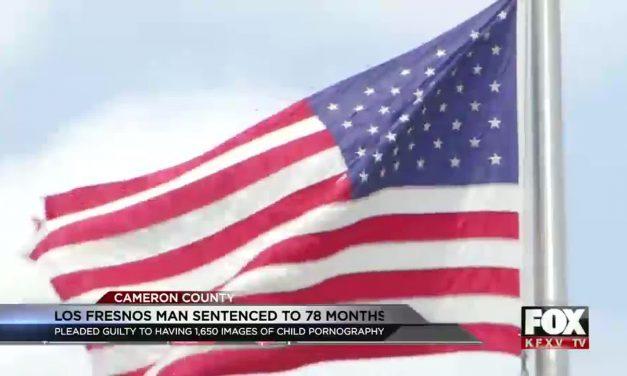Los Fresnos Man Sentenced for Child Pornography