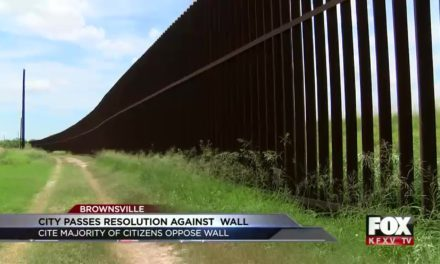 Brownsville passed resolution against border wall