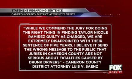 Taylor Nicole Ramirez found Guilty