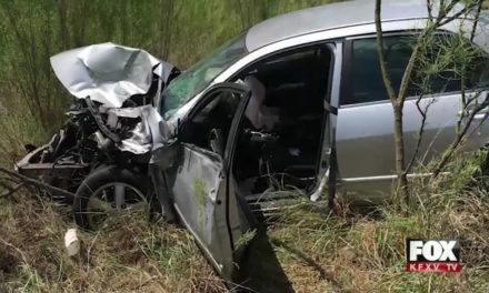 La Feria Rollover Accident leaves One Hospitalized