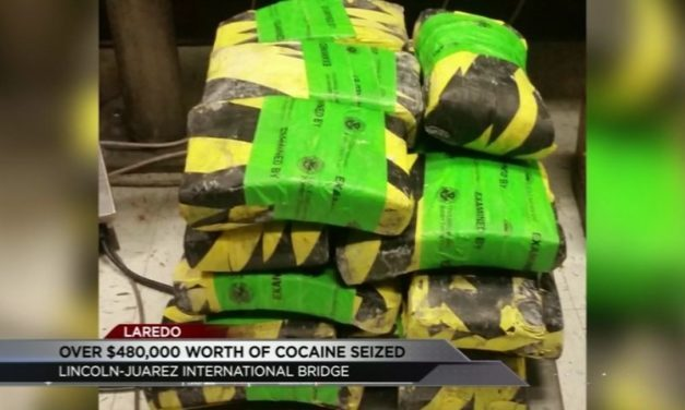 CBP Seized nearly half a million dollars worth of cocaine