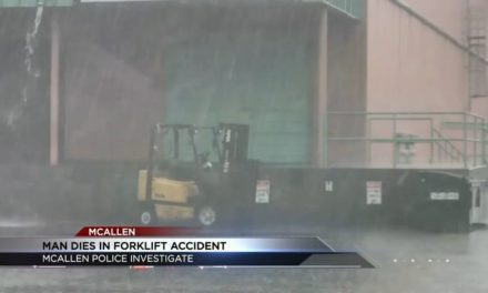 Accident involving a forklift in McAllen