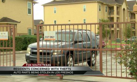 Auto Parts being Stolen in Los Fresnos