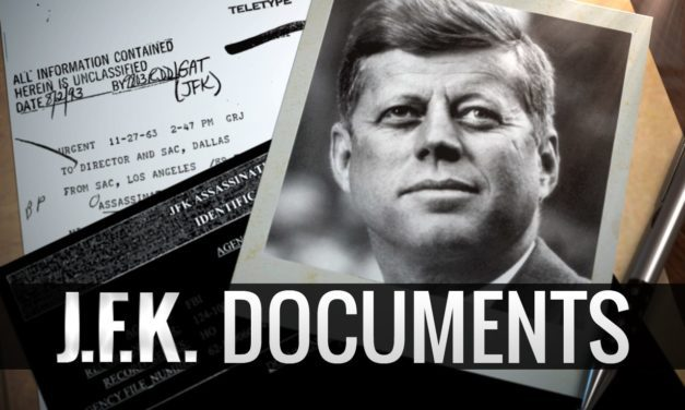 This is the last thing JFK signed in the Oval Office before he was assassinated