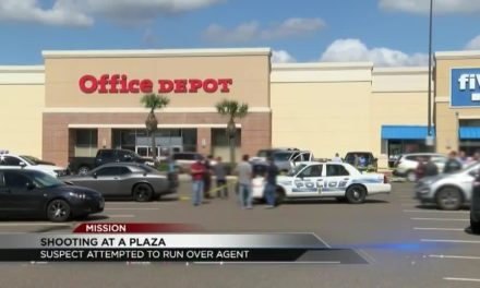 Shootout between Federal Agent and a suspect in Mission