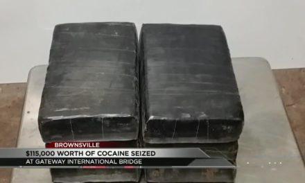 Over $115,000 worth of cocaine seized at International Gateway Bridge