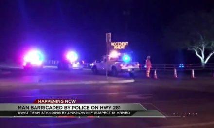Authorities Barricade Man In Standoff