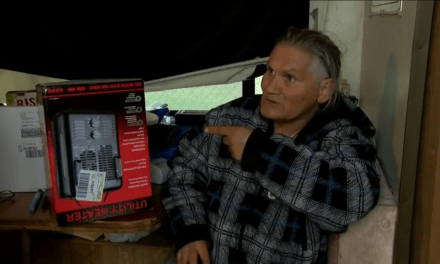 60-Year-Old Receives New Heater