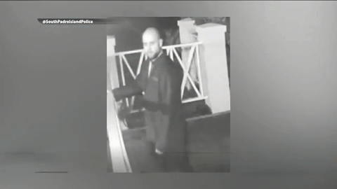 SPI Police Search For Burglary Of A Building Suspect