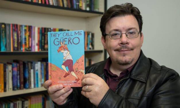 """""""They Call Me Güero"""" Novel celebrates Mexican-American culture and youth"""