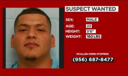 Robbery Suspect Wanted In McAllen