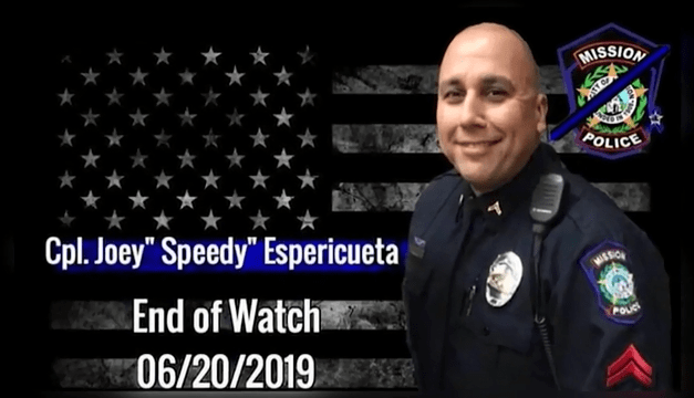 Authorities Reveal New Details In Deadly Shooting Of  Mission Police Officer