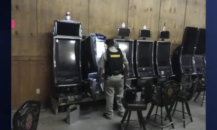 Search Warrant Executed At Illegal Game Room