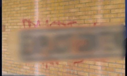 Authorities Investigate Church Vandalism