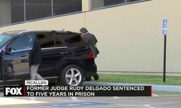 Former District Court Judge Rudy Delgado Sentenced to Five Years for bribery