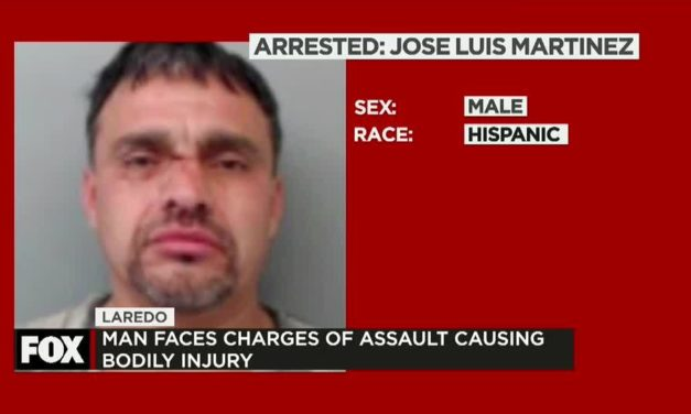 A night of drinking leaves one man behind bars in Laredo