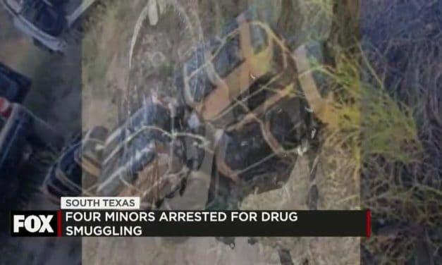 Four minors arrested after alleged drug smuggling attempt