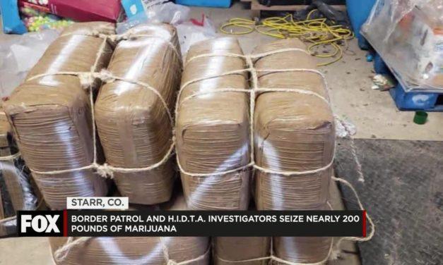 Border Patrol and HIDTA Seize Nearly 200 lbs of Marijuana