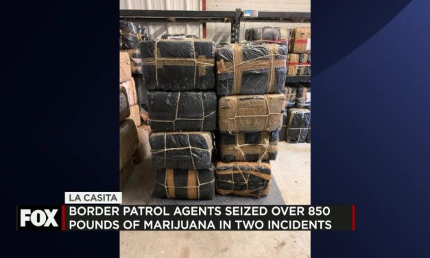 Border Patrol Seize Over 850lbs of Marijuana