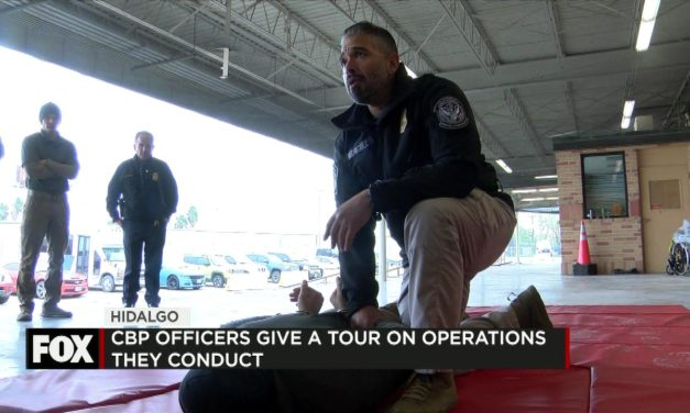 CBP Officers Give Tour on Operations