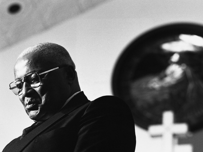 MLK, Sr. at Ebenezer Baptist