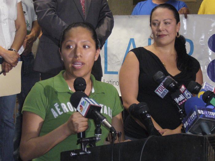 Press Conference in Atlanta