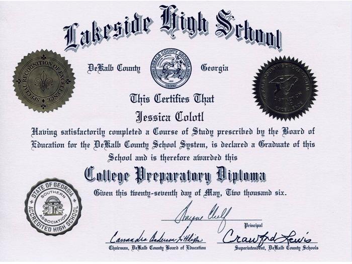 Colotl's Diploma
