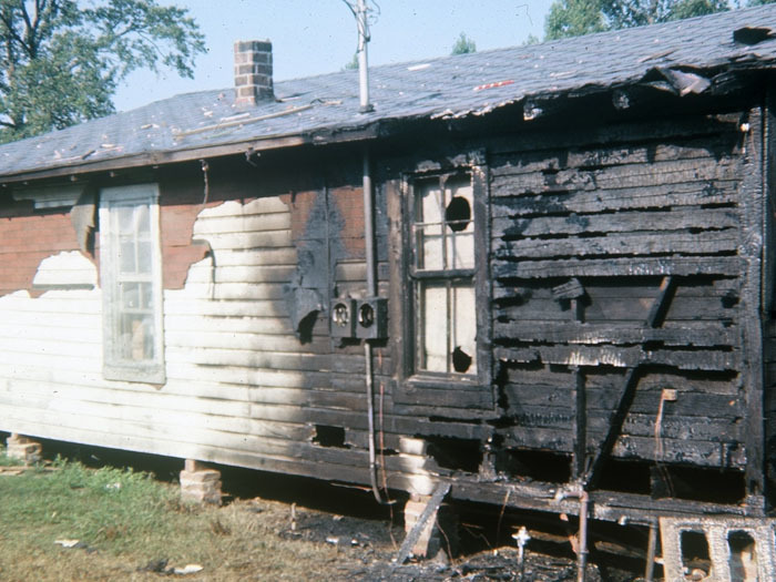 SNCC Office Post Firebomb