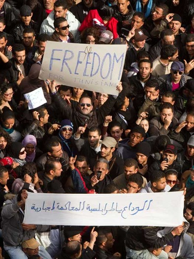 Freedom in Tunisia