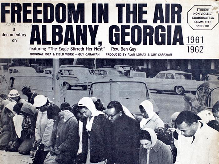 """SNCC album """"Freedom in the Air"""""""