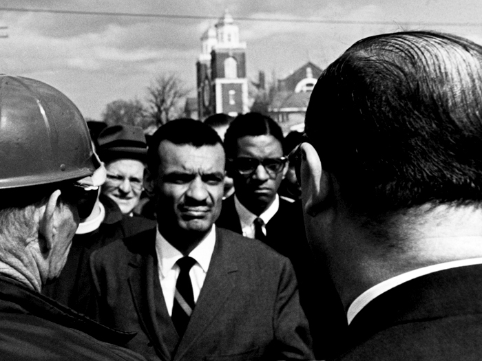 Marching from Selma to Montgomery