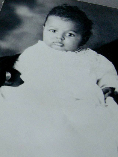 C. T. Vivian as an infant