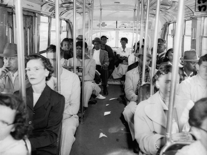 Segregation on buses in Atlanta
