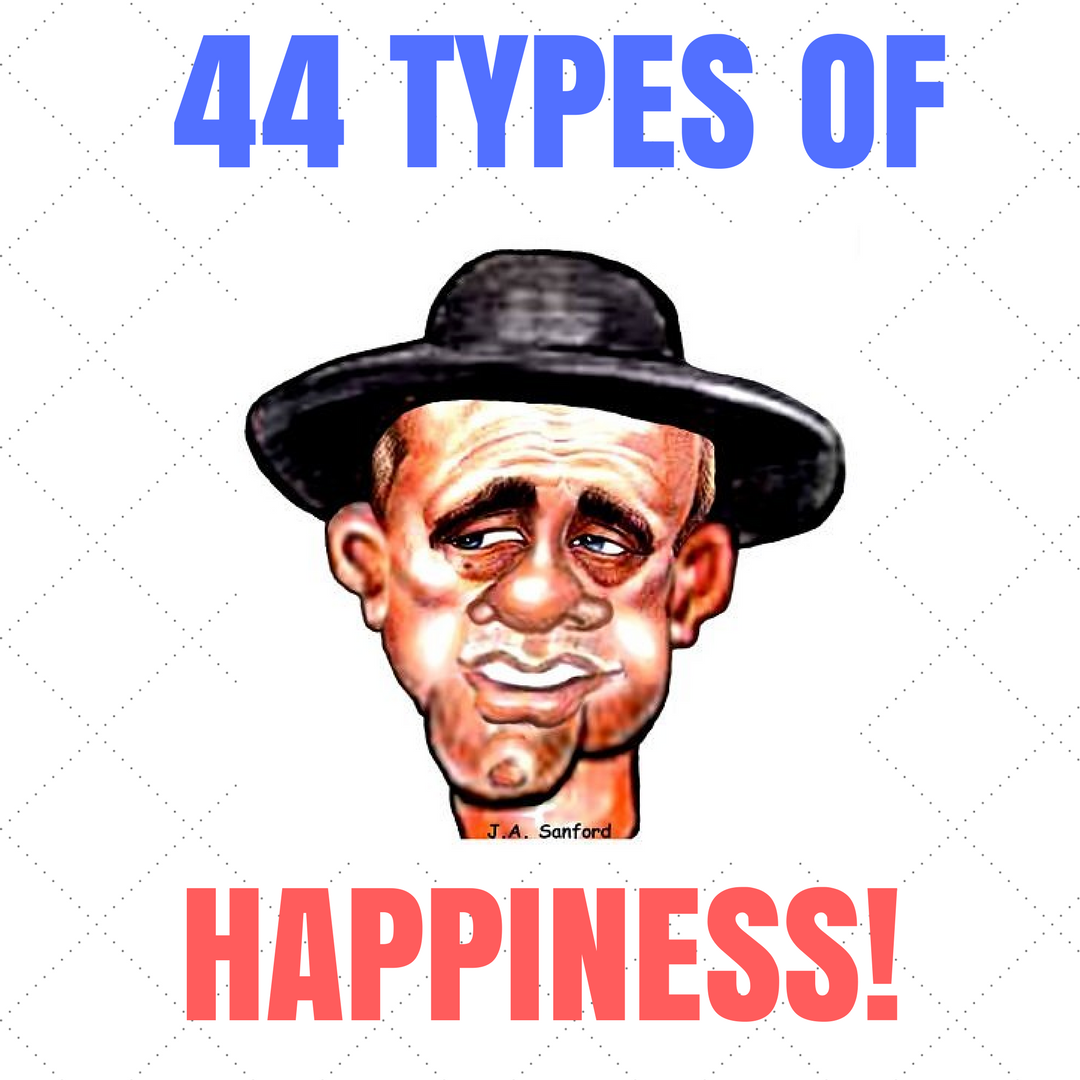 44 Types Of Happiness