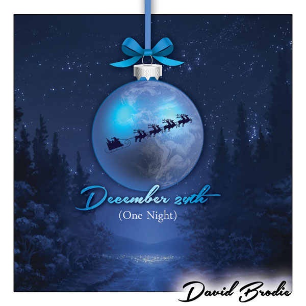 DAVID BRODIE - DECEMBER 24TH (ONE NIGHT)