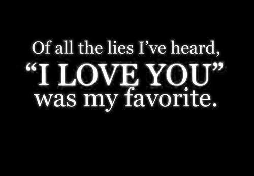 I Lied Too