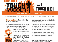 World's Toughest Mudder for Glenn Lightner