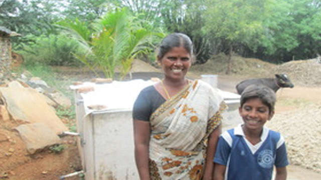 Provide water to a rural community in India!