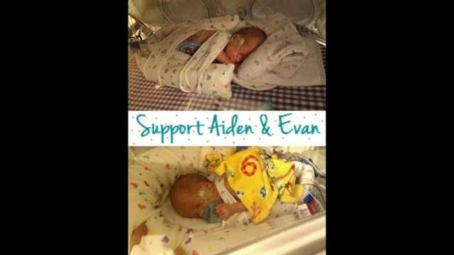 Help Aiden & Evan!