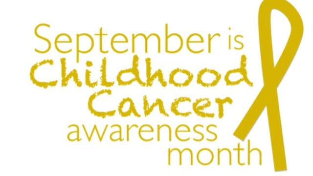 Shaving for a Cause: Childhood Cancer Awareness