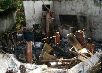 Restoring Brazier and Black blacksmith shop
