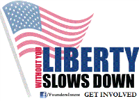 Without YOU, Liberty Slows Down!