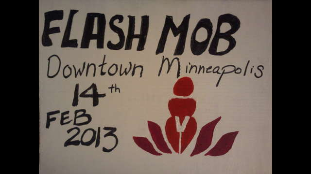 Fundraising for ONE BILLION RISING in Mpls!