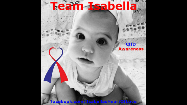 Help Isabella with her Open Heart Surgery!