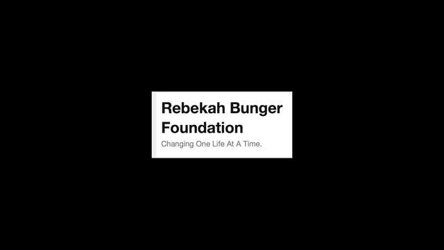 Virtual Fundraiser for the Rebekah Bunger Found.