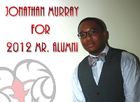 Jonathan Murray for 2012 Mr. Alumni